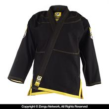Do or Die Hyperfly Jiu Jitsu Gi - Black/Yellow
